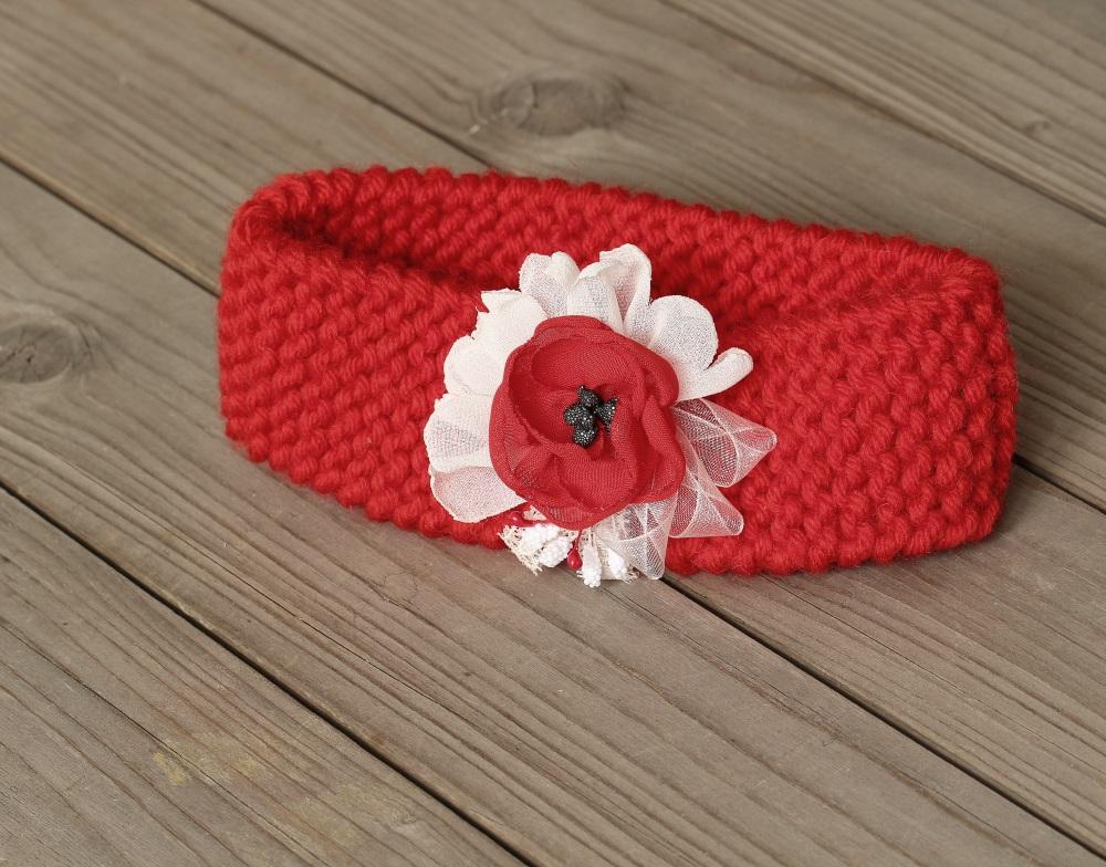 лента за бебе плетена