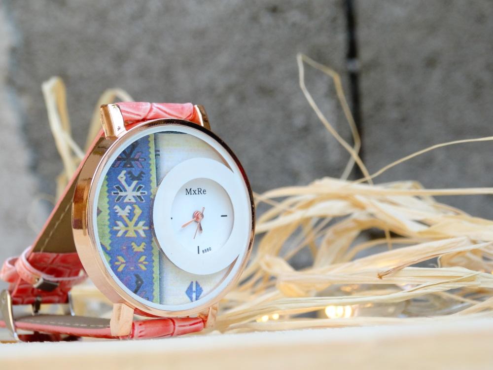 Часовник птици Корал/Розов