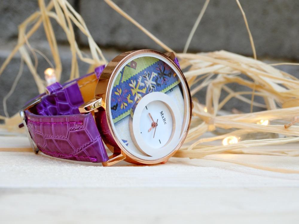 Часовник птици Лилав