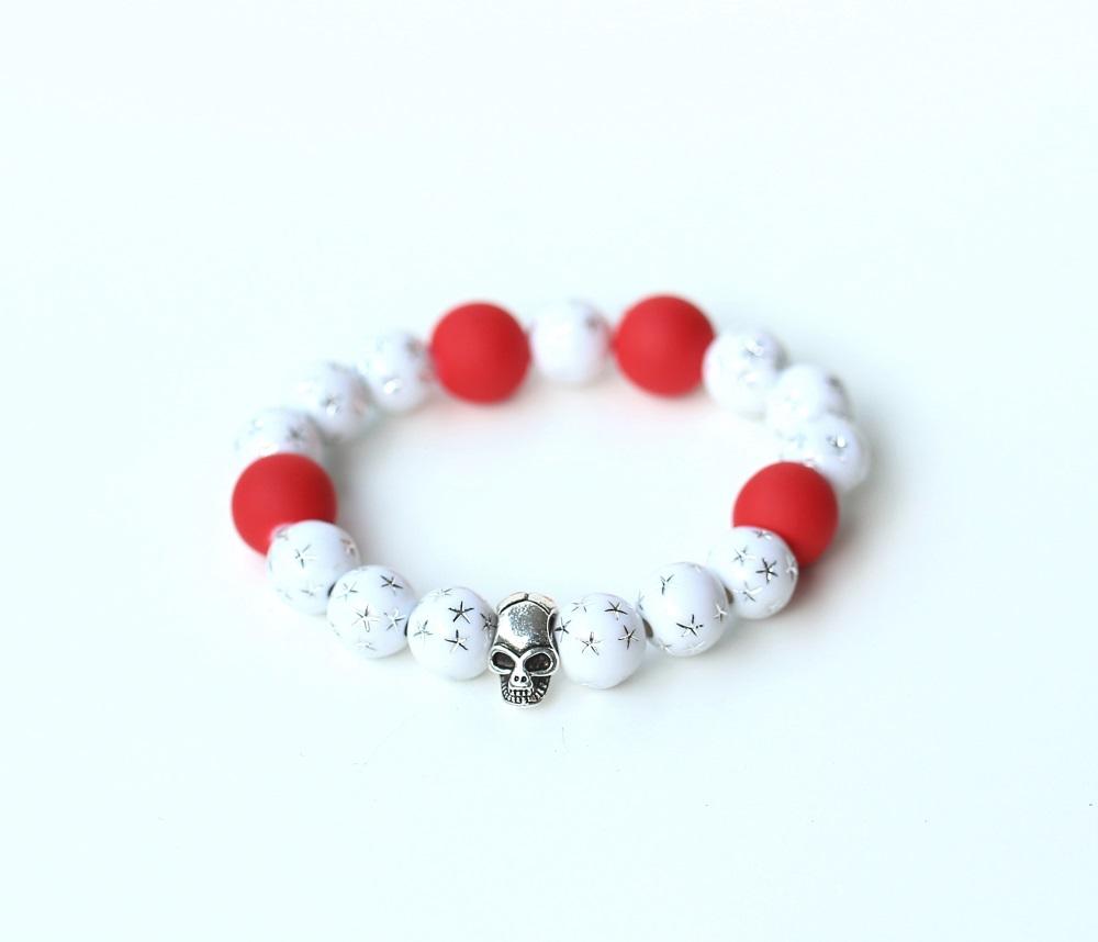 Гривна бяло и червено