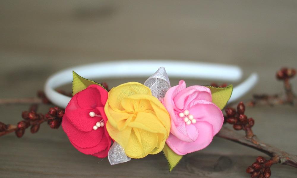 Диадема пролетни цветя