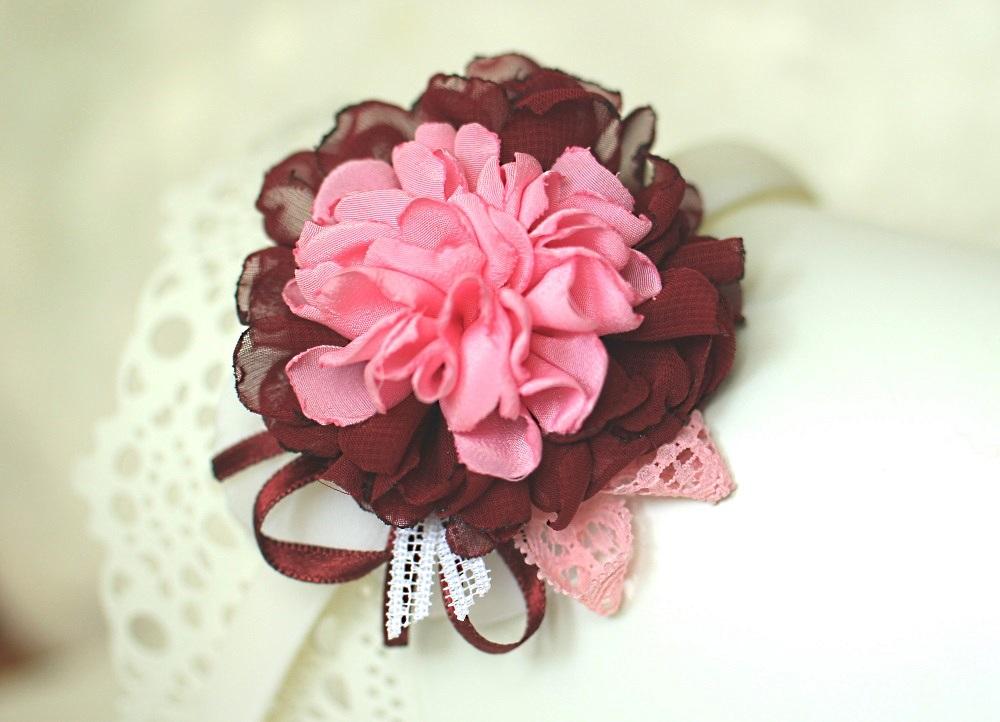 Диадема тъмно и светло розово