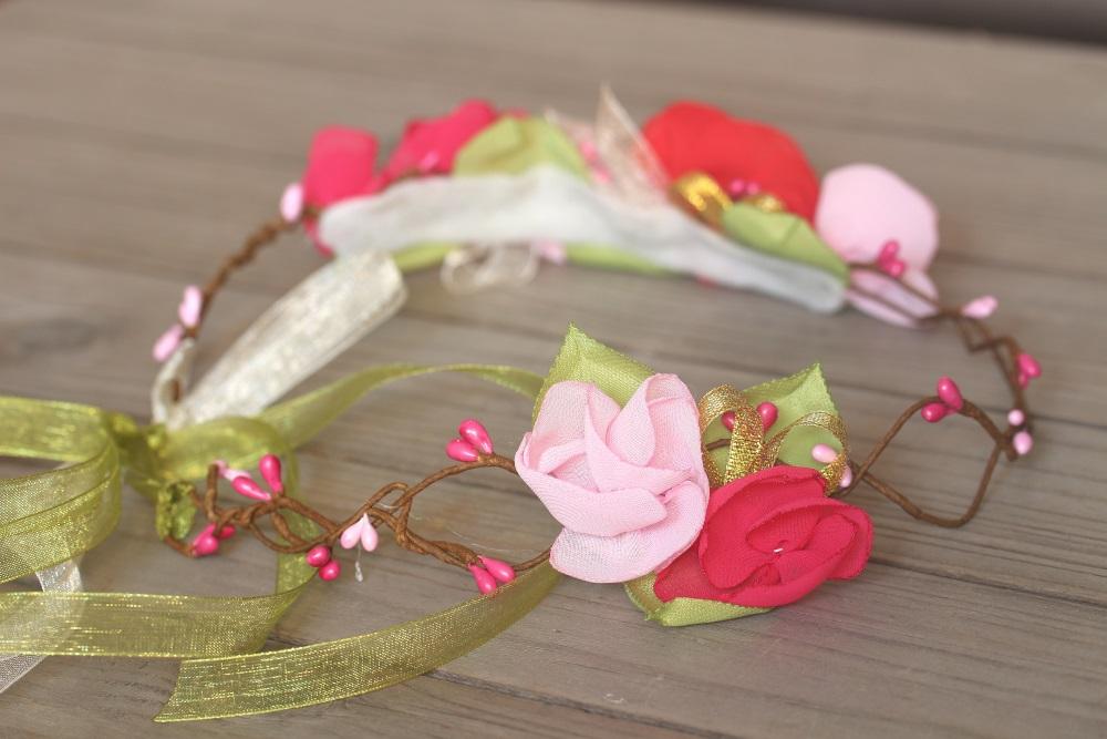 Венче с цветя