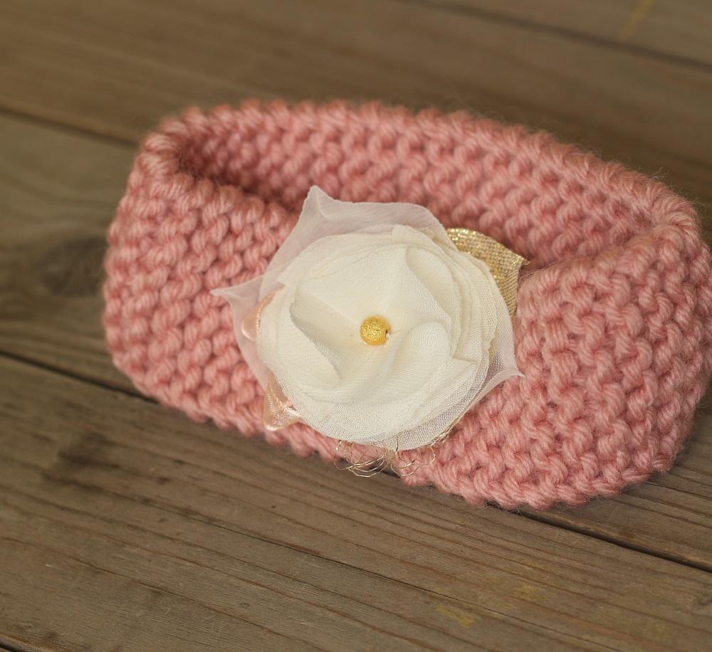 Плетена лента за бебе