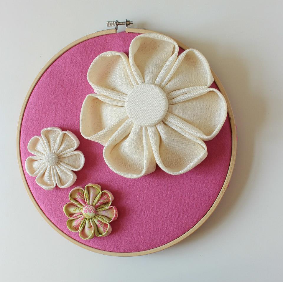 Пано за стена с цвете розов