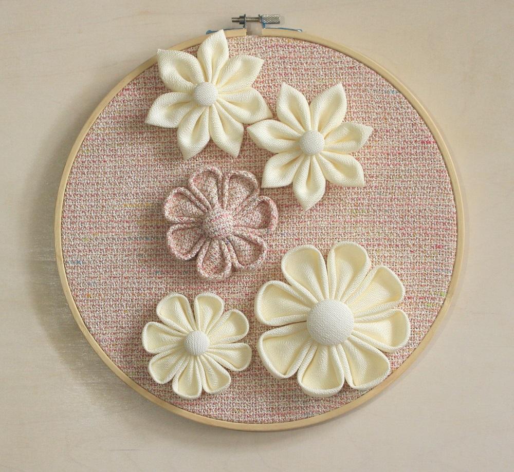 Пано за стена цветя розови